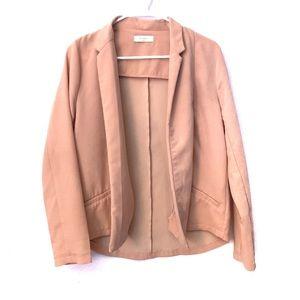 Anthropologie Jacket Blazer Light Pink/Nude